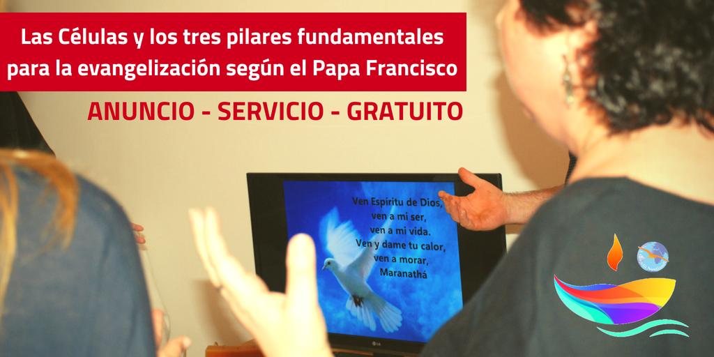 Los tres pilares del Papa Francisco y las Células