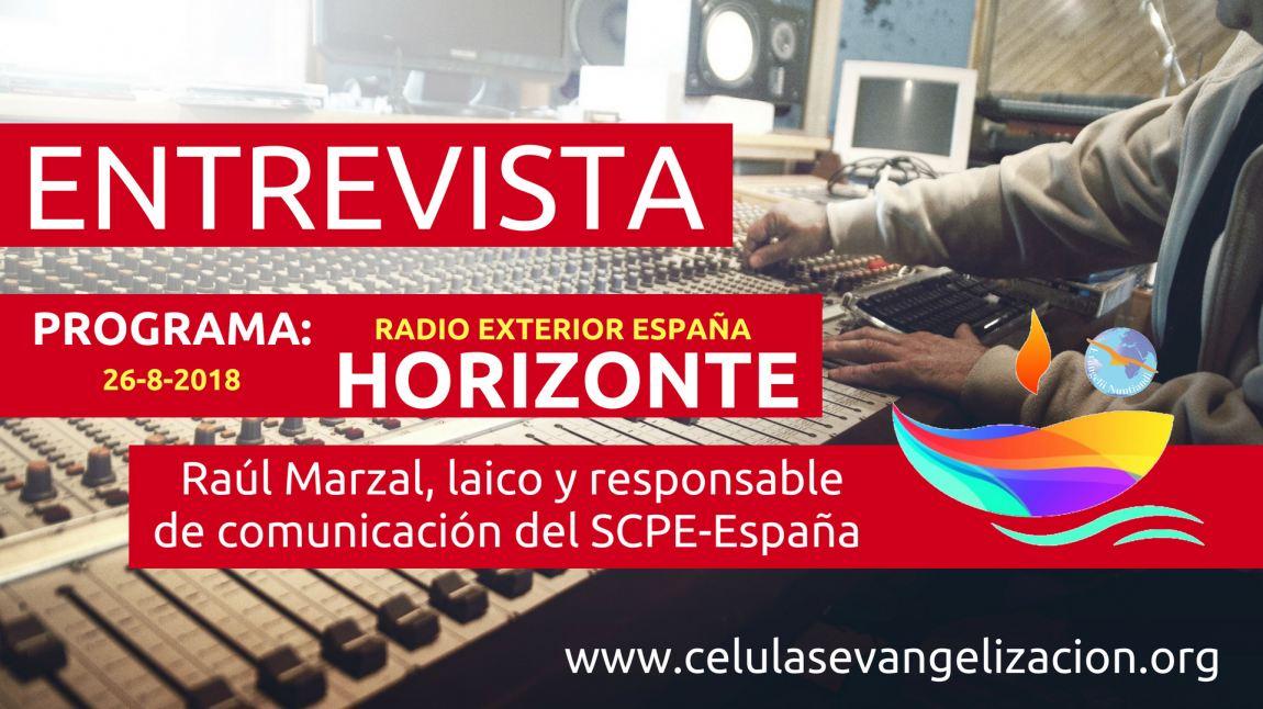 Entrevista en Radio Exterior España